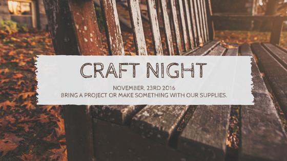 craft-night