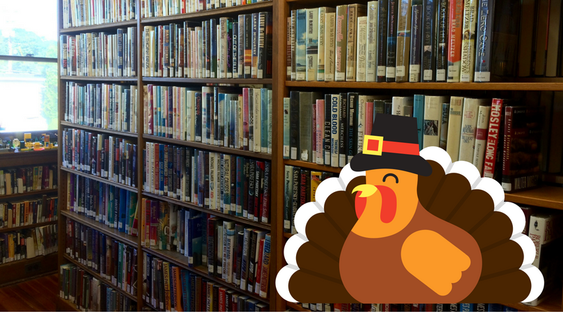 Looking forward to Thanksgiving at the Library